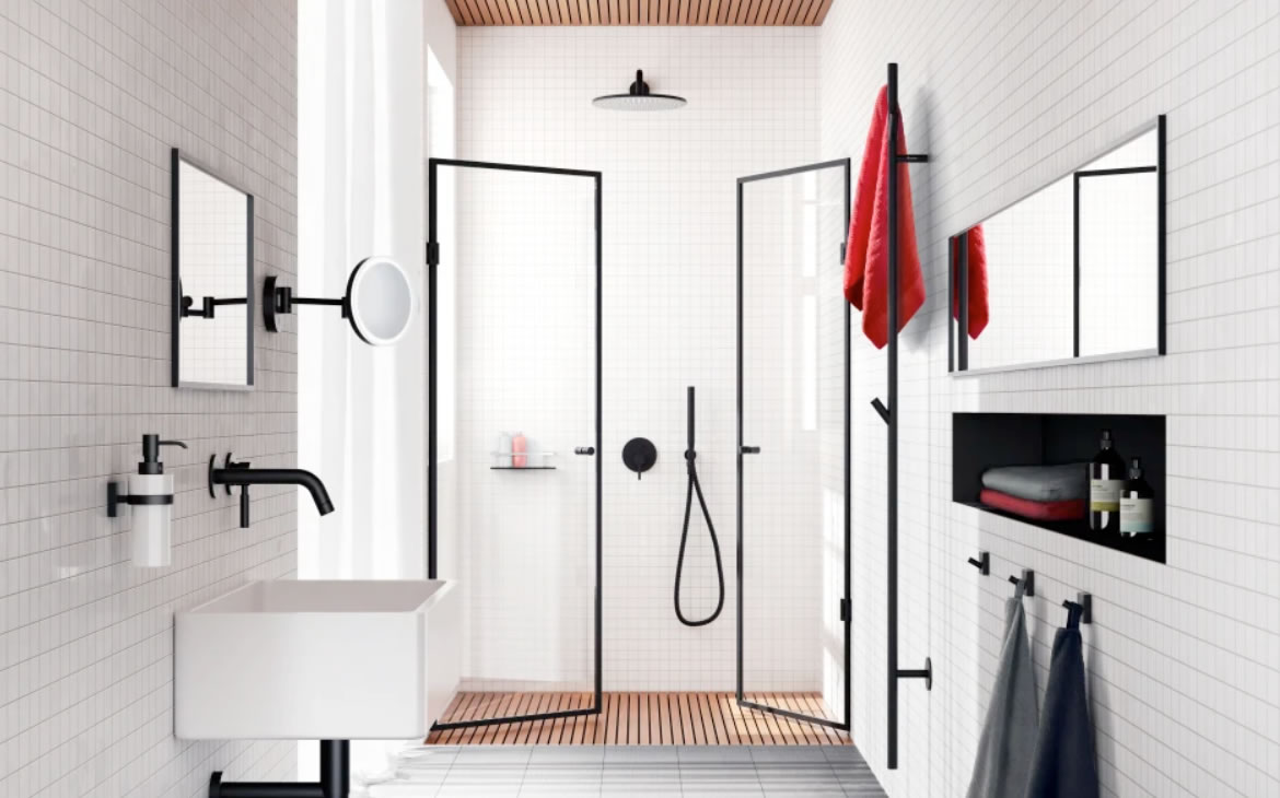 The Bathroom Sanctuary welcomes to the showroom a brand new accessories range from Smedbo of Sweden